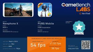 Gamebench ResultsCard