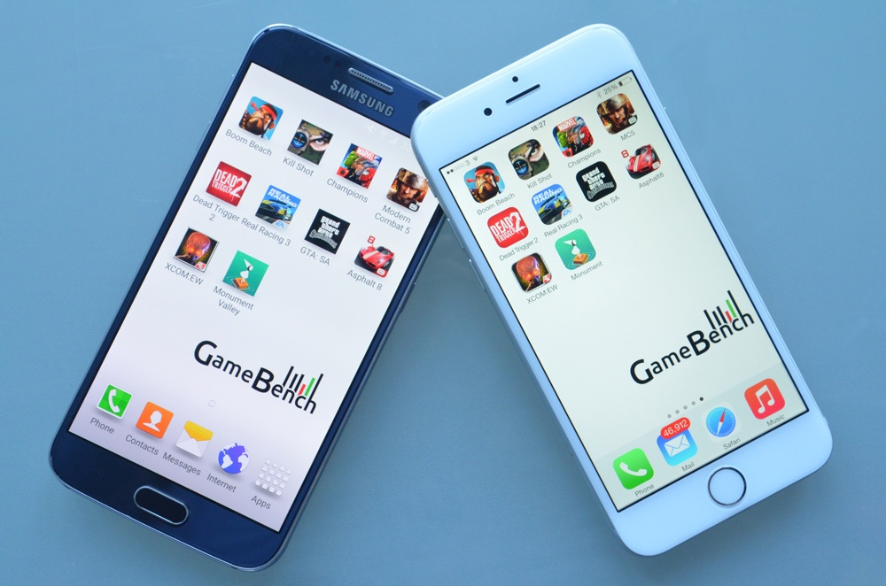 iPhone 6 vs. Galaxy S6: Which performs best at gaming?