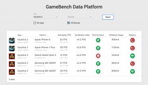 Injustice 2 Data Platform screenshot