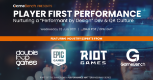 Webinar - Player First Performance